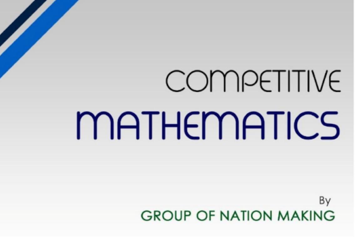 Competitive Mathematics ebook by Akash Tripathi pdf download