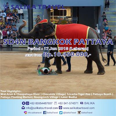5D4N Bangkok Pattaya Lebaran - Salika Travel