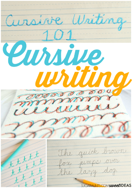 How To Teach Cursive Letters