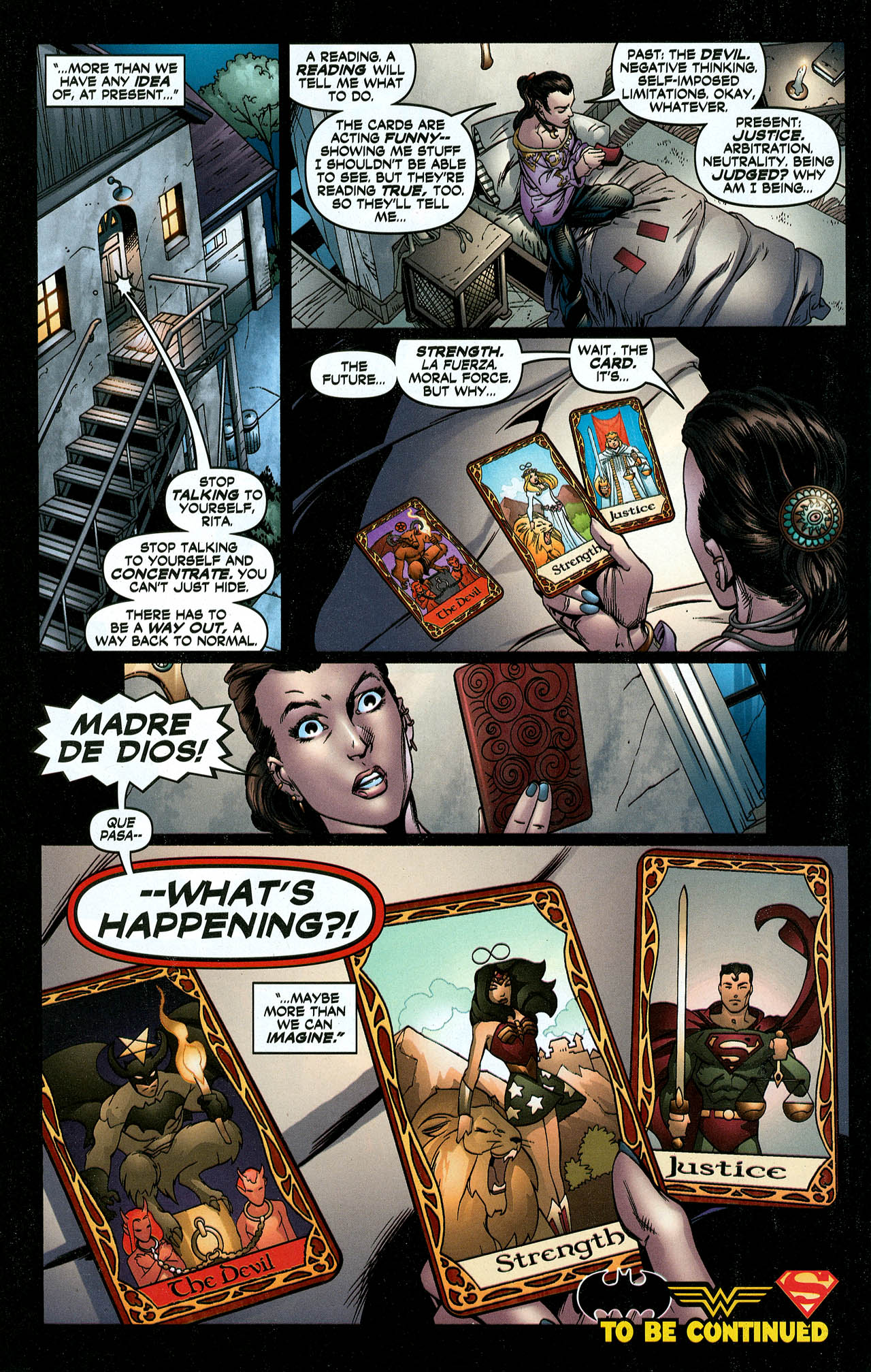 Read online Trinity (2008) comic -  Issue #5 - 19
