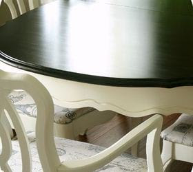 How to refinish a dining room table top