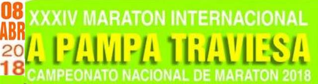 Maratón A pampa traviesa en Santa Rosa (La Pampa - ARG, 08/abr/2018)