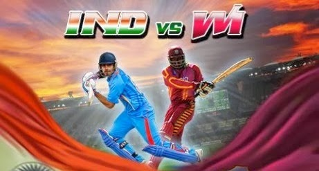 Watch Live India vs West Indies in 4th ODI Series 2014