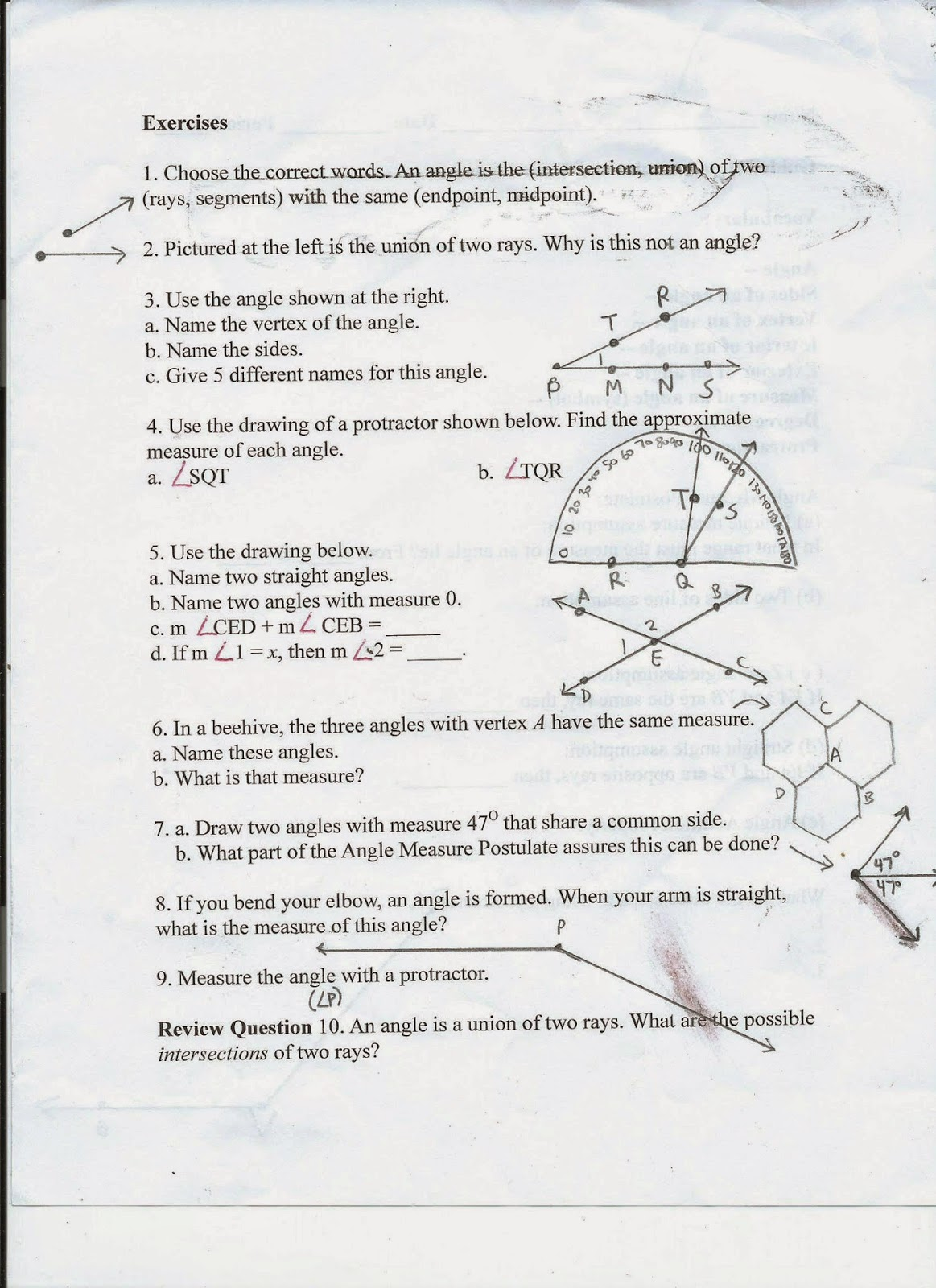 Geometry Common Core Style September