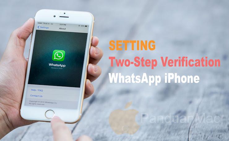 Cara Mengaktifkan Two-Step Verification WhatsApp di iPhone