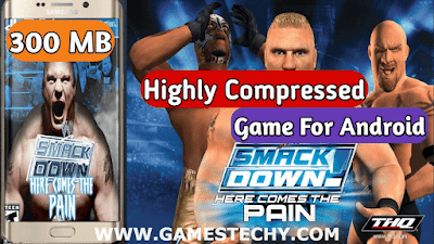 wwe smackdown here comes the pain compressed ppsspp android