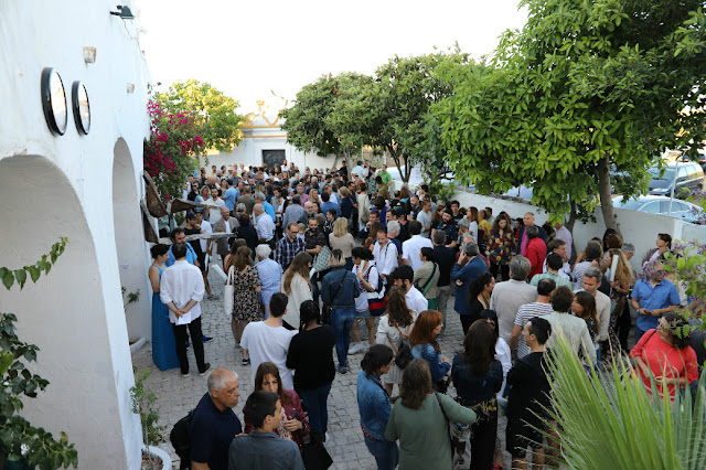 Casa cheia no Solar das Pontes de Marchil para conhecer a nova exposição da Associação 289