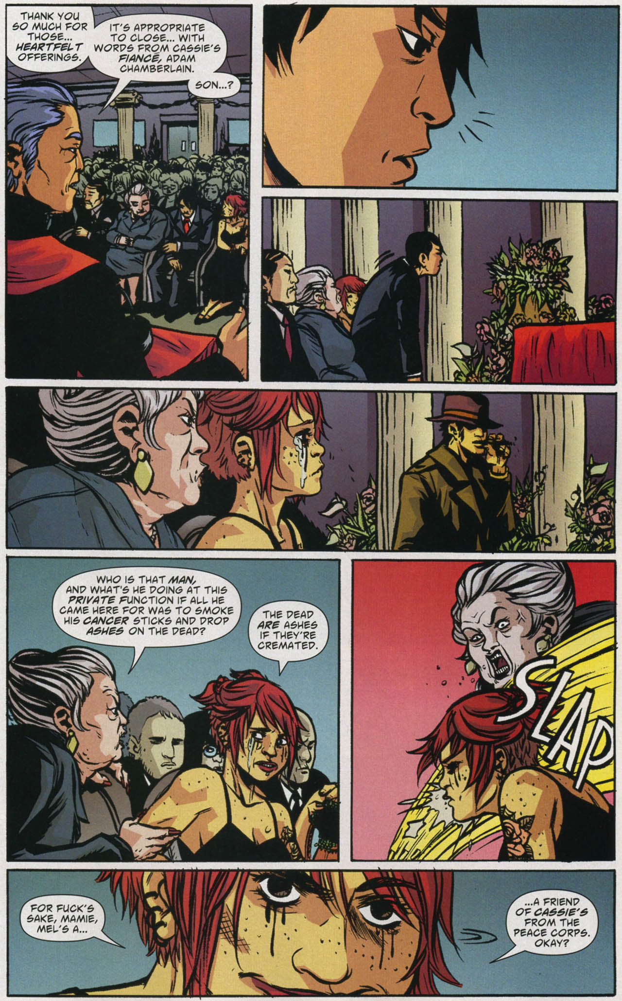 Read online American Virgin comic -  Issue #5 - 9