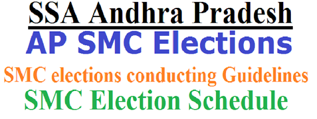 AP SMC Elections,Guidelines,Schedule