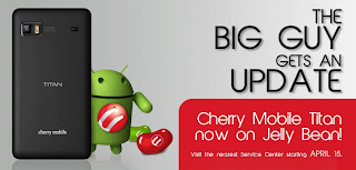 Cherry Mobile Titan Jellybean Update