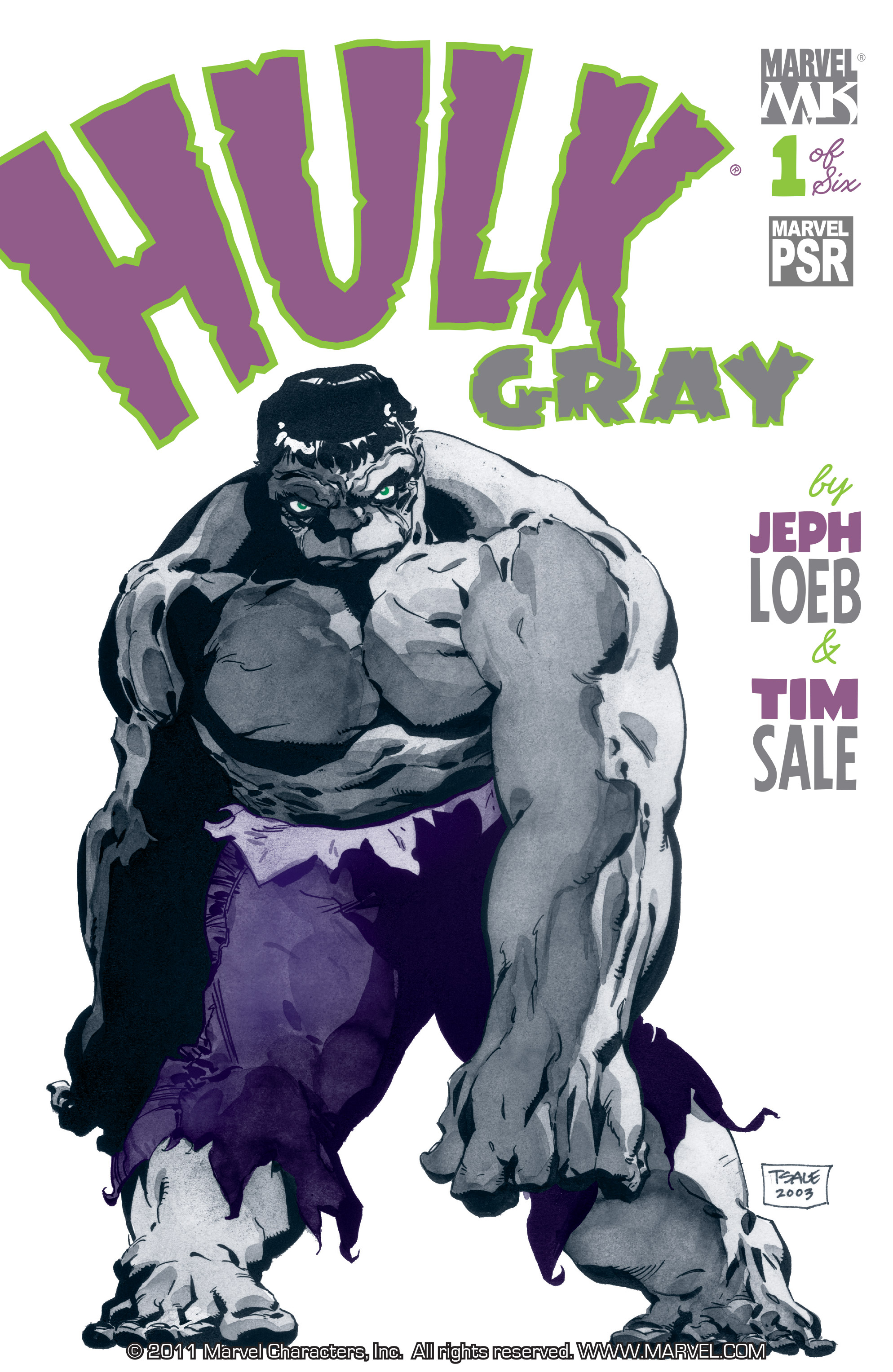 Read online Hulk: Gray comic -  Issue #1 - 1