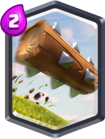 Carta O Tronco de Clash Royale - Wiki da Carta