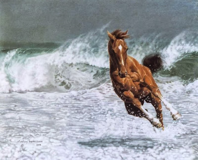 realismo-caballos-corriendo