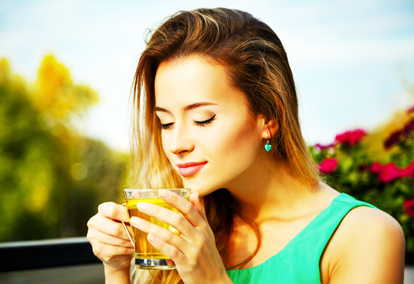 Ginger Tea Protects the Skin Against Infections
