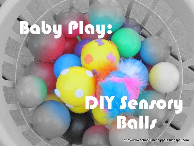 diy sensory balls for babies