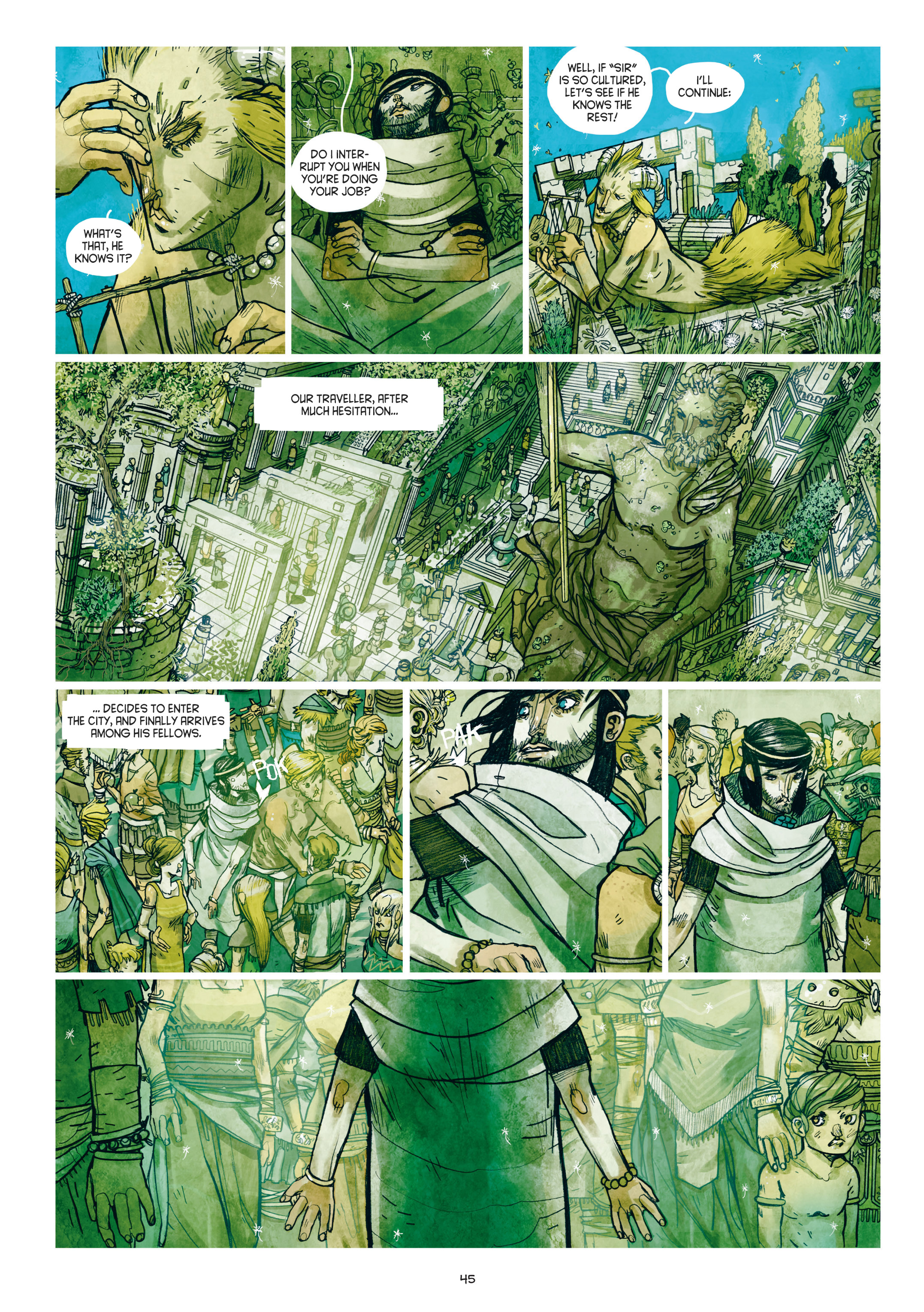 Read online Adrastée comic -  Issue #1 - 46