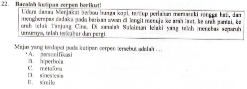 PEMBAHASAN SOAL UN BAHASA INDONESIA 2016/2017 SMK/MAK