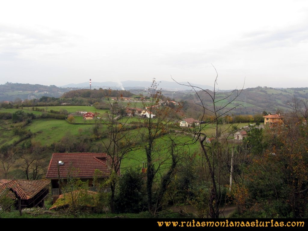 Ruta Baiña, Magarrón, Bustiello, Castiello. Tellego