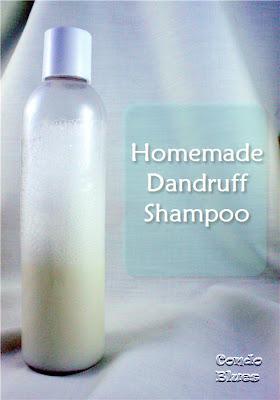 DIY homemade non toxic dandruff shampoo