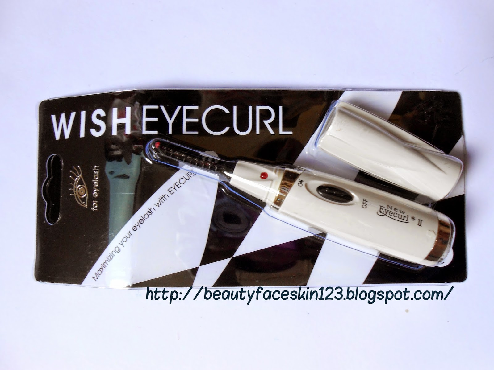 WISH EYECURL- EYELASH CURLING IRON (HEATED EYE LASH CURLER)
