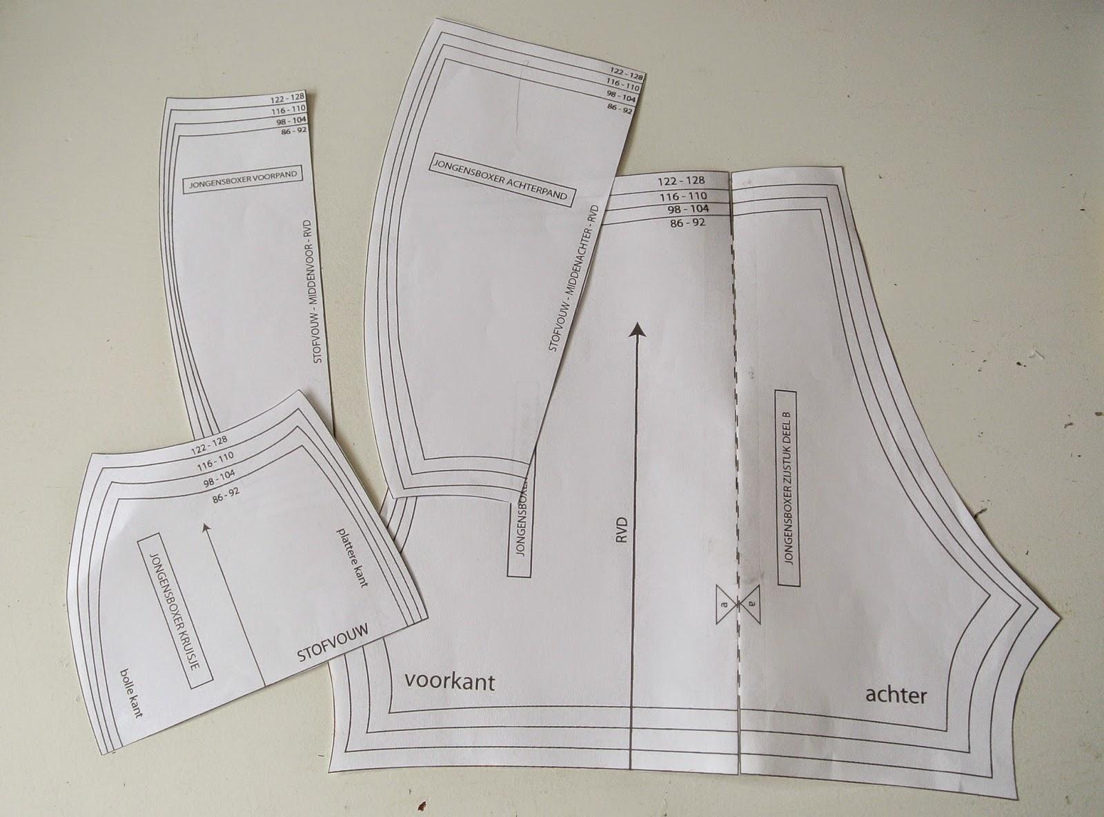 ondergoed met kanten achterkant