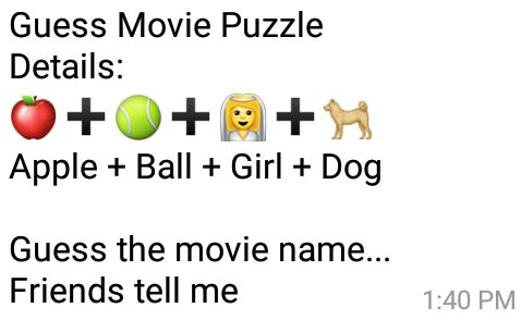 Guess Movie Puzzle