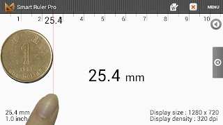 Android boy's Lab: Smart Ruler Pro (ver 2 5) manual