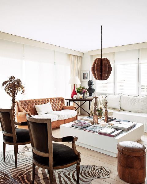 Mid Century Modern Interiors: Modern Retro In Barcelona, Mid-Century Modern Apartment