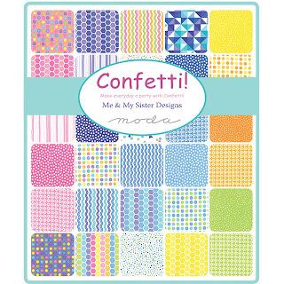 Moda Confetti Fabric by Me & My Sister Designs for Moda Fabrics