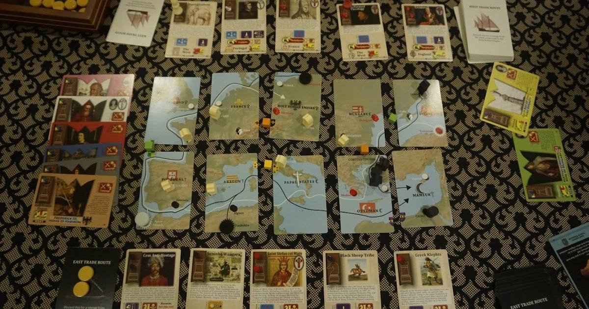Hiew's Boardgame Blog: Pax Renaissance image