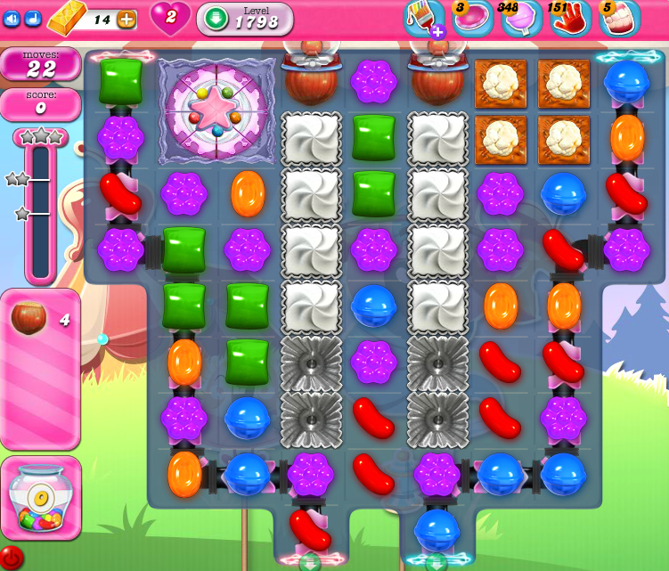 Candy Crush Saga 1798