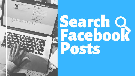 Search Facebook Posts<br/>