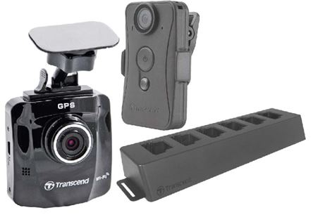 Transcend Dashcams and Body Cameras