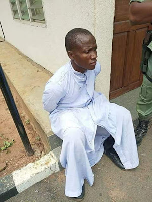 'Thief' Dressed As A Priest Caught In Catholic Church (Photos)