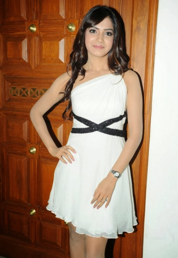 Actress Samantha Latest White Dress Gallery | WoodsTimes ...