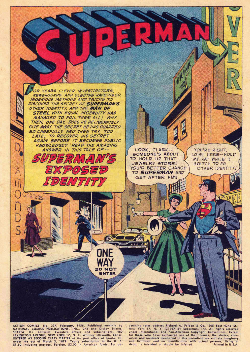 Read online Action Comics (1938) comic -  Issue #237 - 3