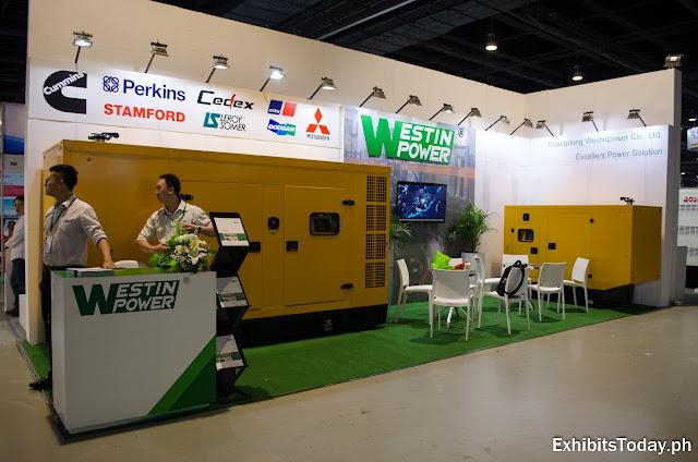 Westin Power exhibit stand