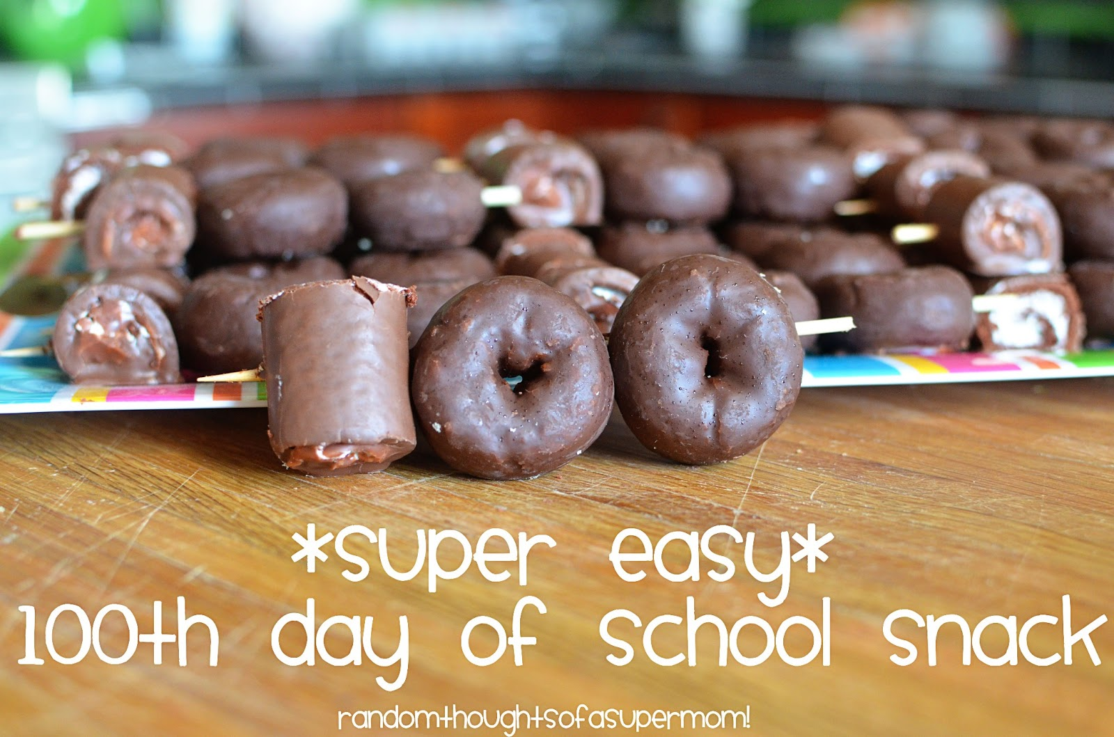 Random Thoughts Of A Supermom Super Easy 100th Day Of
