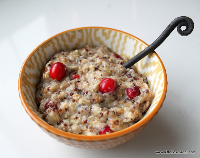 oatmeal with quinoa
