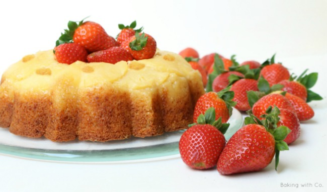 pinapple upside down bundt cake