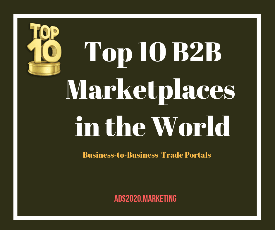 Top 10 B2B Marketplaces in the World-940x788