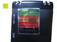 Aufkleber: GHB 8GB Digitales Diktiergerät Aufnahmegerät Audio Voice Recorder mit Stereoaufnahmen, MP3 Player und USB Spericher -Schwarz