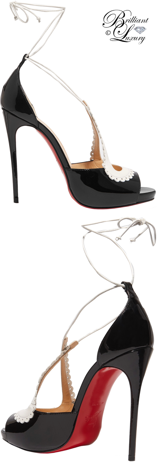 Brilliant Luxury ♦ Christian Louboutin Operissima Sandals