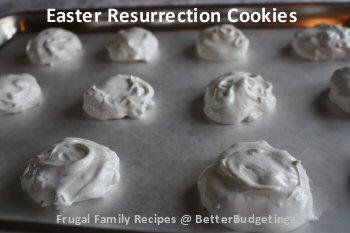 Easter resurrection cookies - photo 4