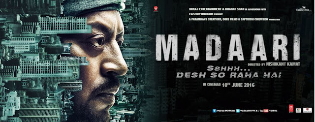 Madaari Hindi Movie Official Trailer 2016 | Irrfan Khan | Jimmy Shergill