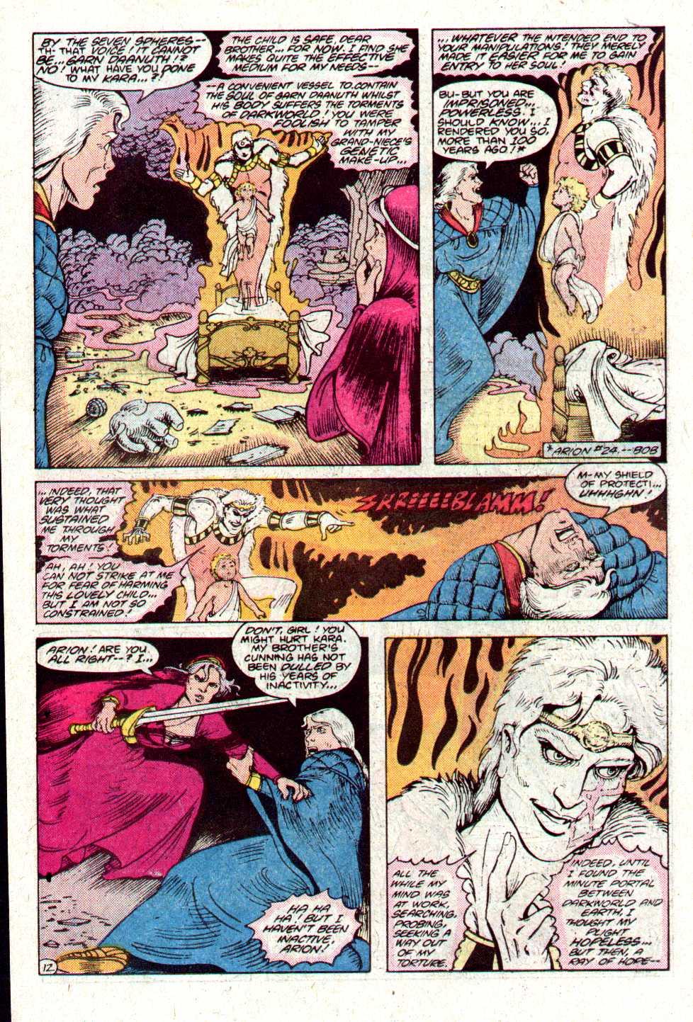 Read online Secret Origins (1986) comic -  Issue #11 - 13