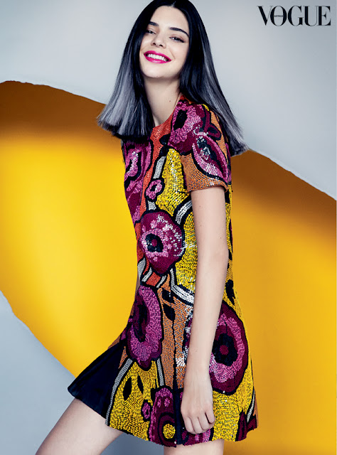 Kendall Jenner Covers Vogue Australia Magazine  For September Issues.
