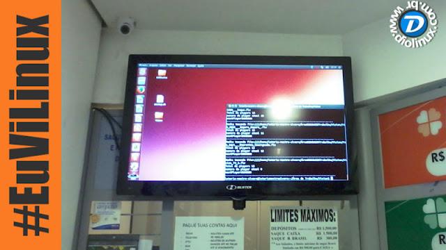 Ubuntu é utilizado em casas lotéricas