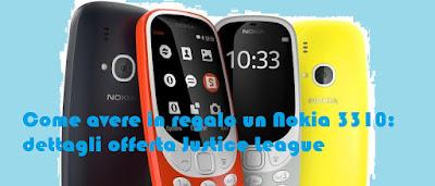 Come avere regalato Nokia 3310: dettagli offerta