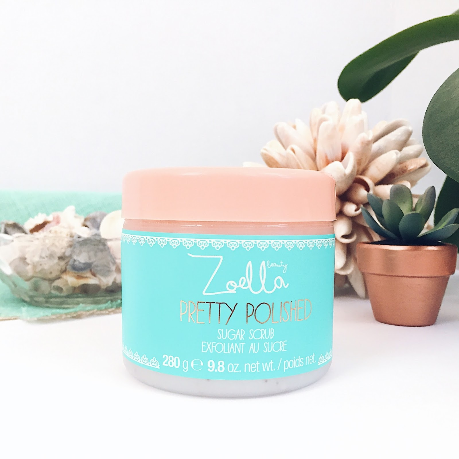 Zoella Pretty Polished Sugar Scrub
